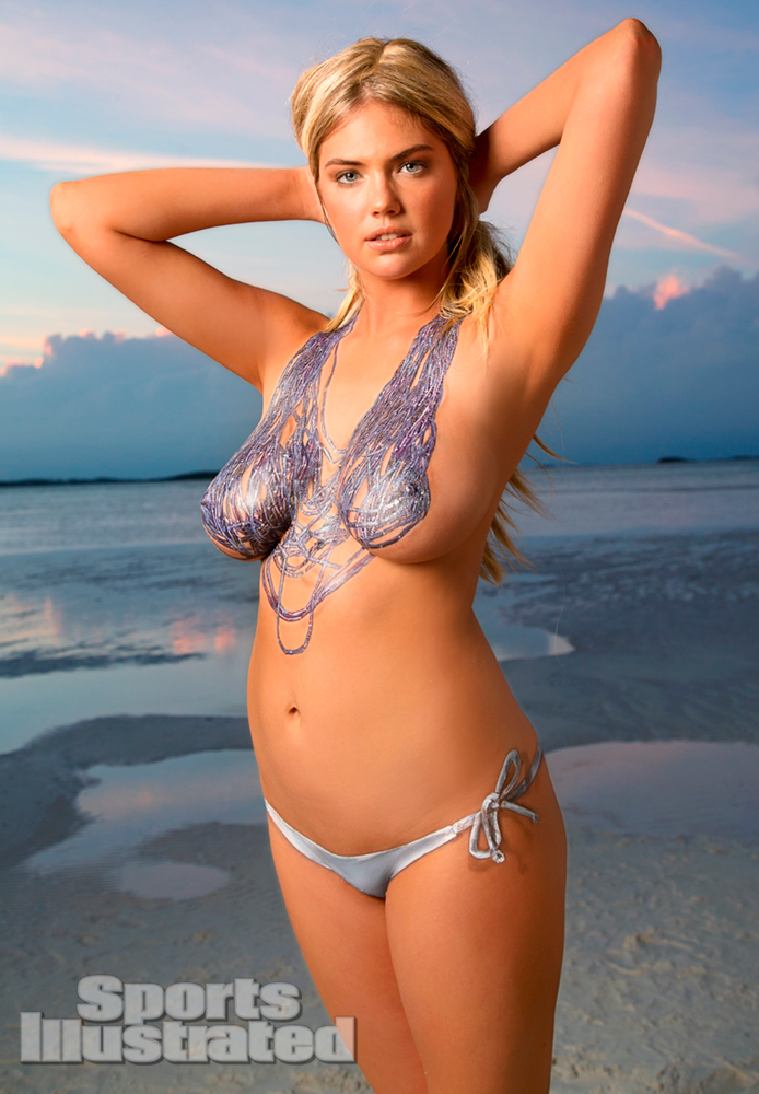 Kate Upton – Sports Illustrated topless bodypaint
