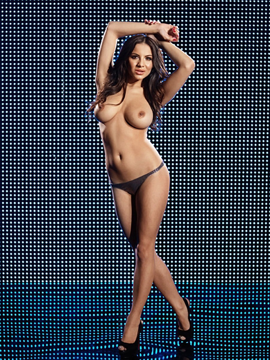 Lacey Banghard – Nuts Magazine Topless Photoshoot