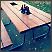 Modernizirani stari stol