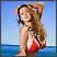 Jordan Carver i crveni bikini