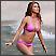 Seksi celebrity u ružičastom bikiniju