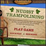 Nudist na trampolinu
