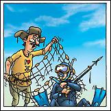 Ribar i ronilac