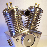 Neobično twin kućište cilindara za pojačalo