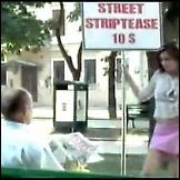 Ulični striptiz