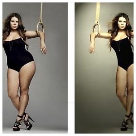 Čuda photoshopa, prije i poslije