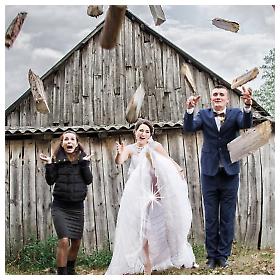 Zabavne fotografije vjenčanja