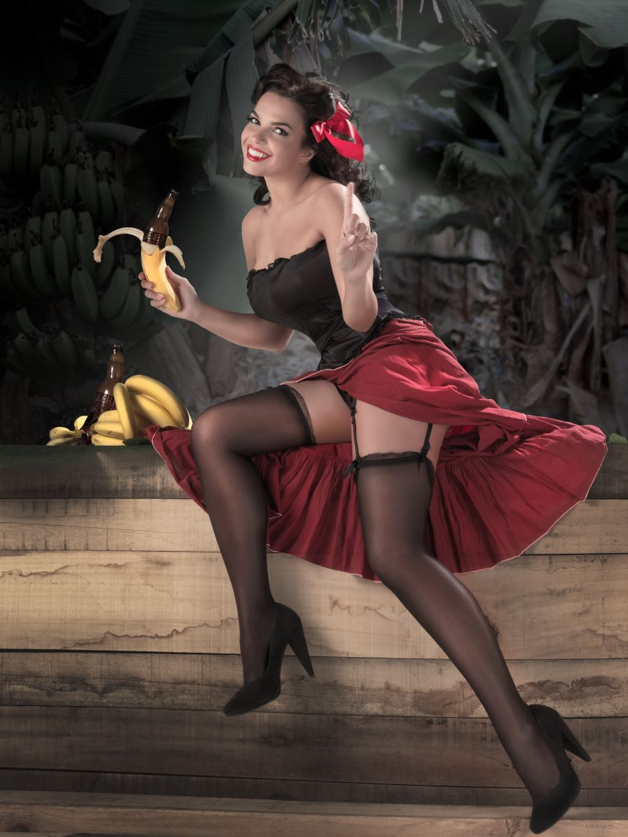 Ljepotice u pin up stilu (38 fotografija)