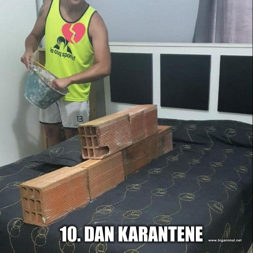10. dan karantene