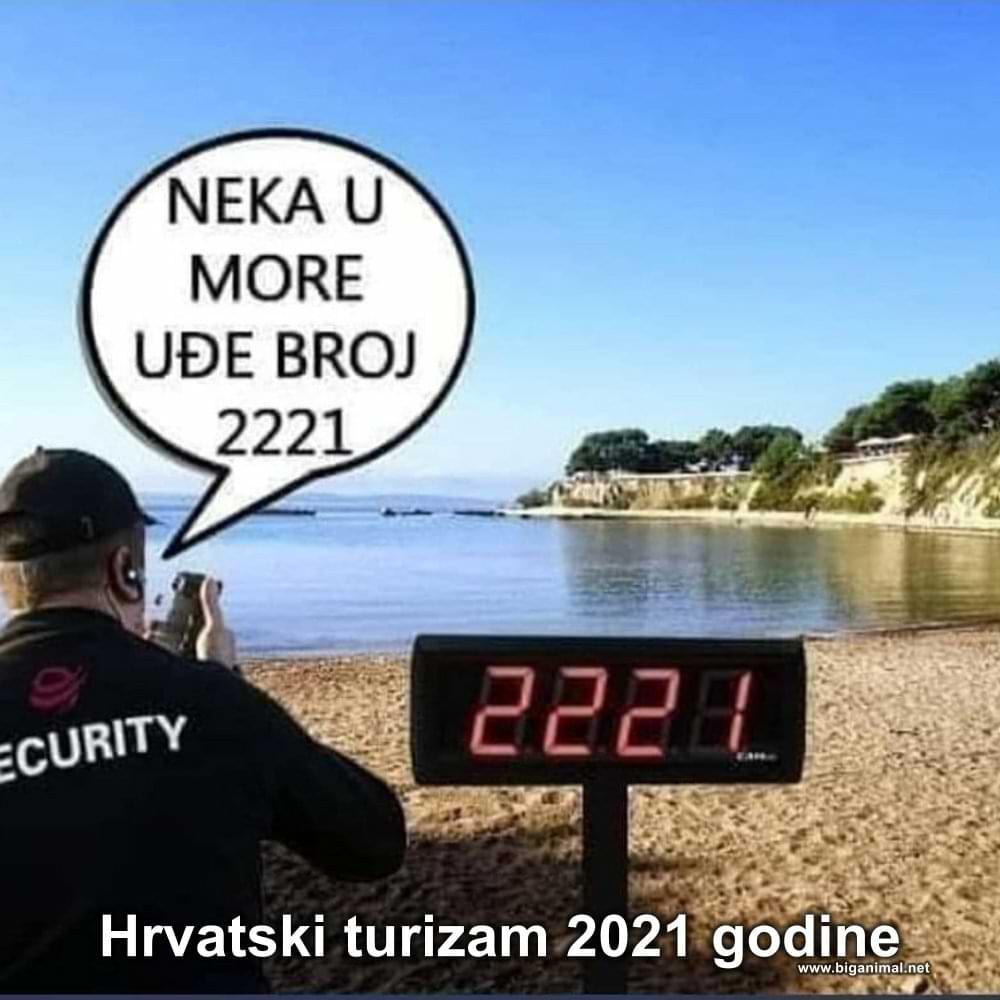 Hrvatski turizam 2021 godine