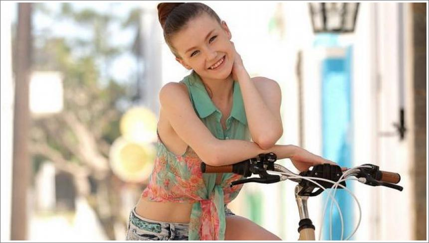 Emily i bicikl