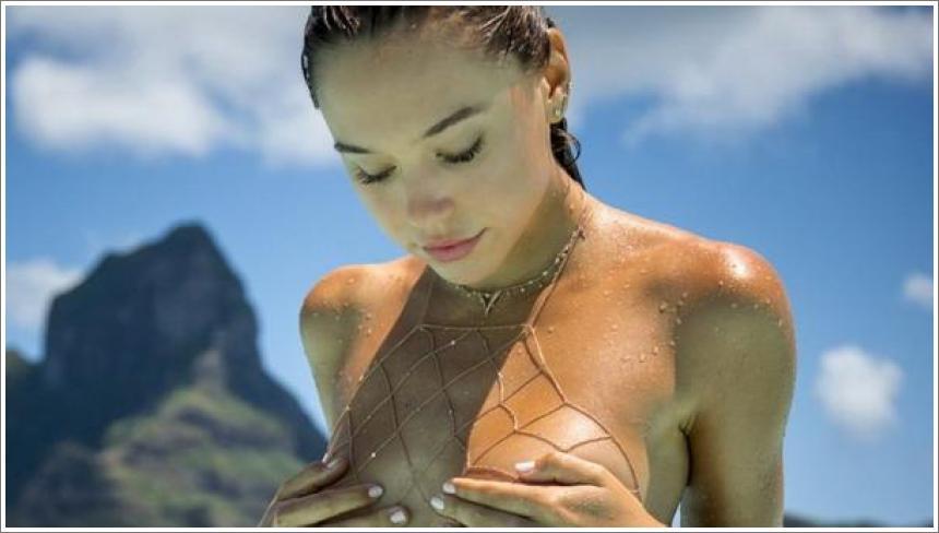 Alexis Ren – na Bora Bora otocima
