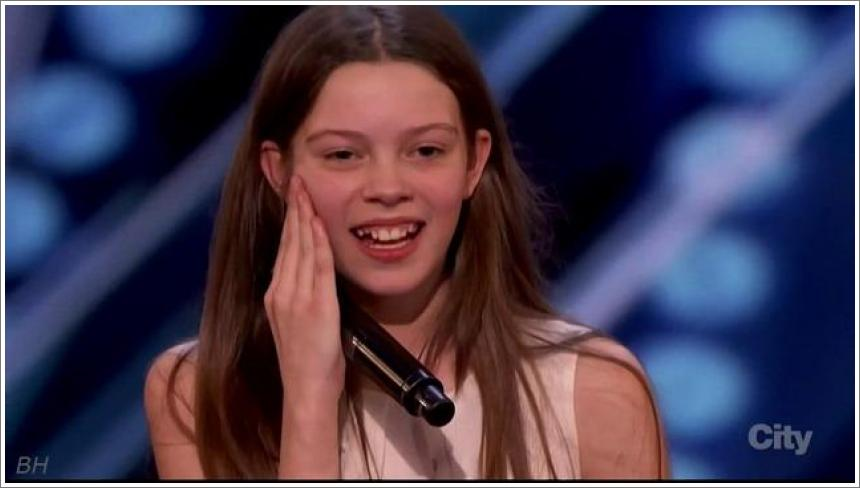 13-to godišnja Courtney Hadwin na America's Got Talent 2018