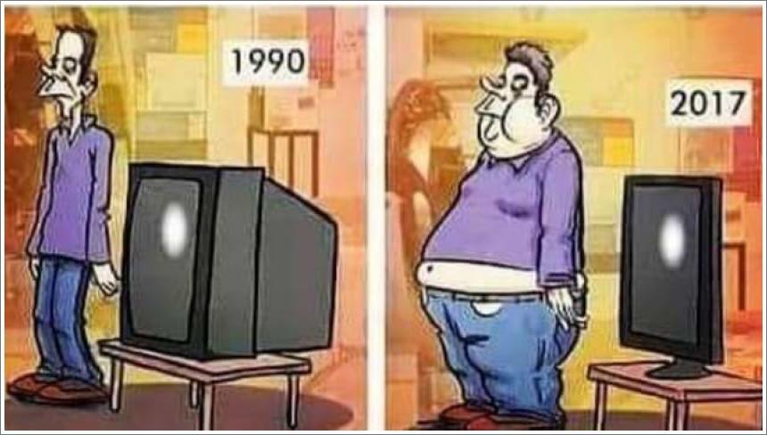 Prošlost VS sadašnjost