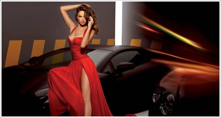 "Irina Shayk – ""Alessandro Angelozzi"" Couture 2013"