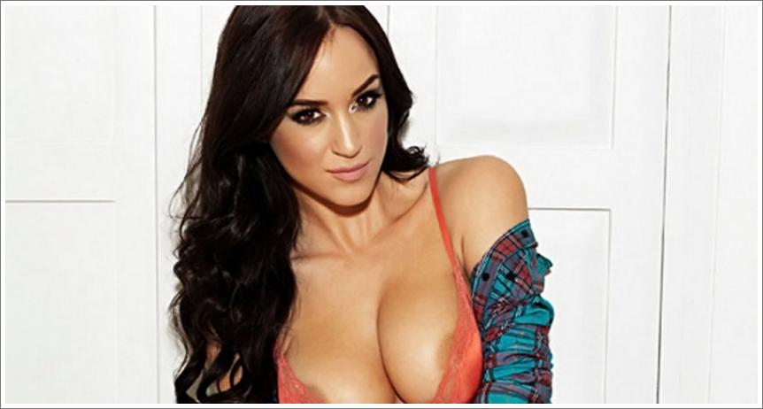 Rosie Jones – topless photoshoot