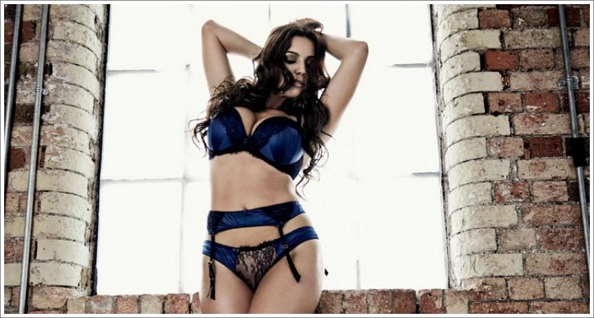 "Kelly Brook – ""New Look"" intimno rublje"