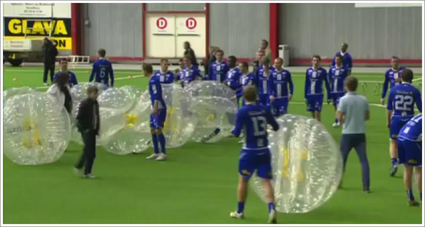 Zabavni nogomet - Boblefotball
