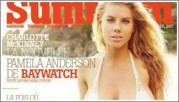 Charlotte McKinnney za Summum magazin