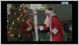 Djed Mraz u gaćama