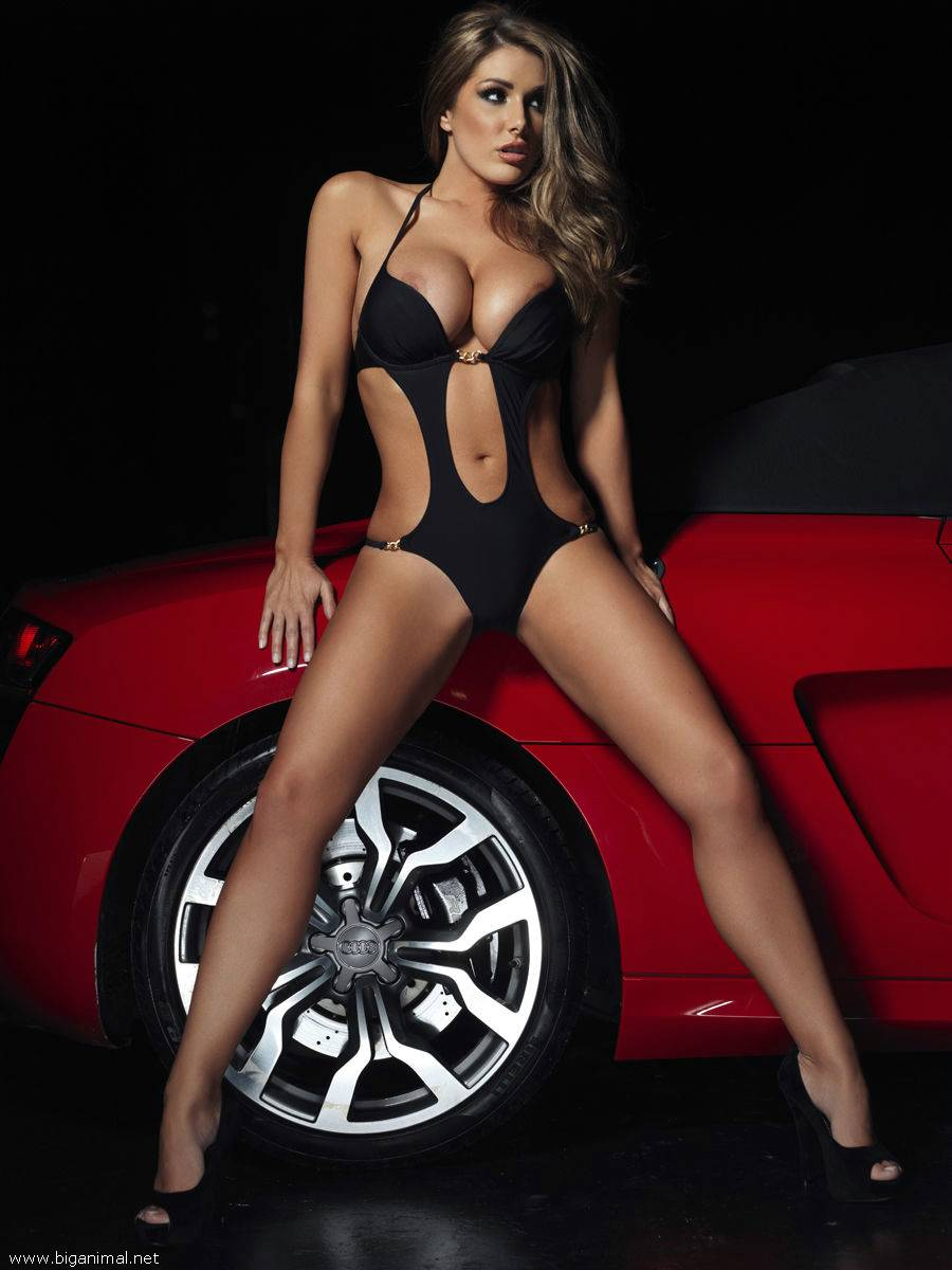 Lucy Pinder Nuts super Car (11 fotografija)