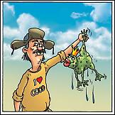 Ribar i princ žabac