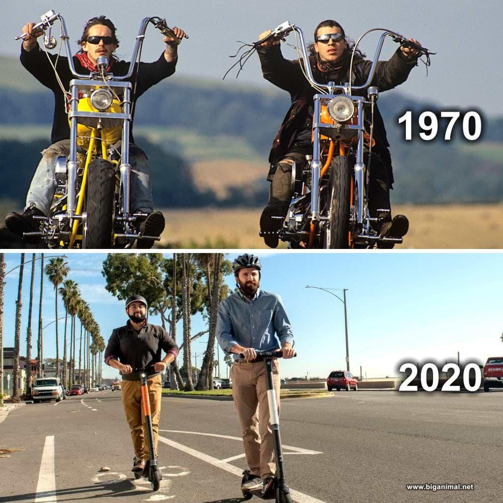 Evolucija muškaraca...