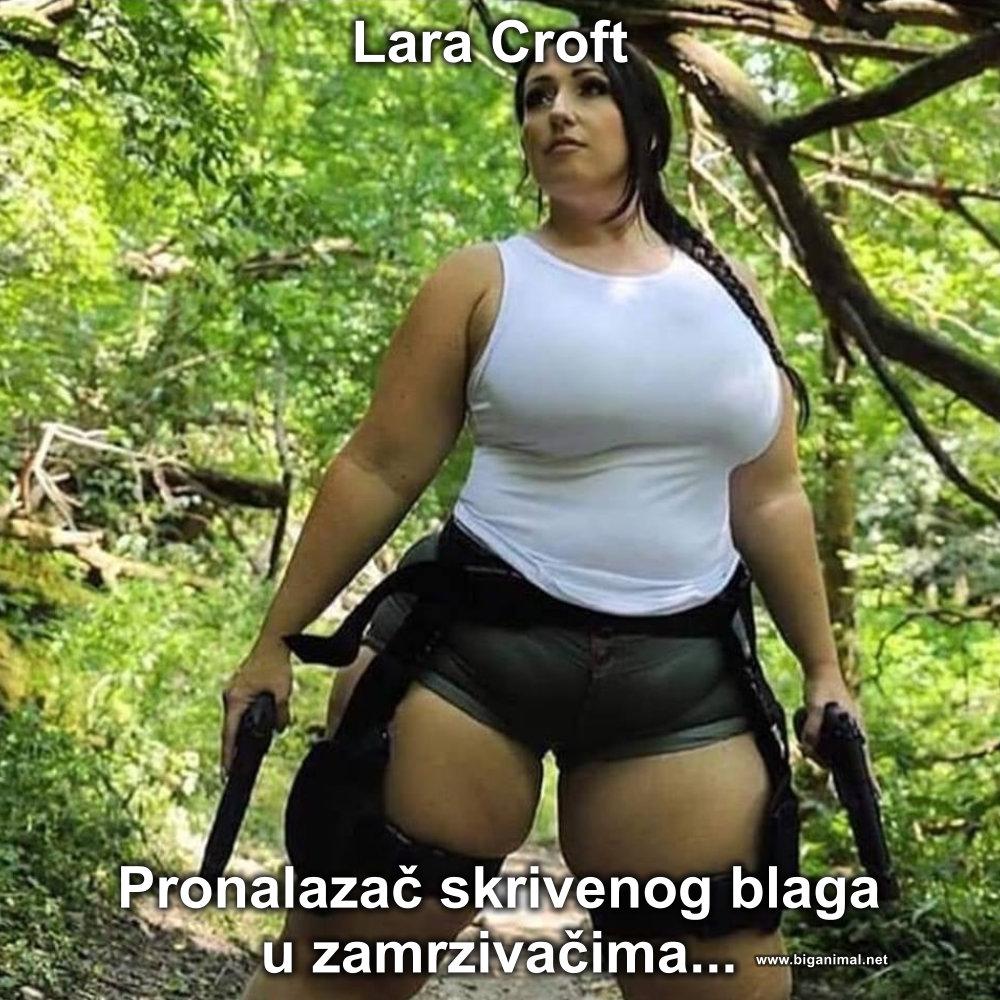 Lara Croft...