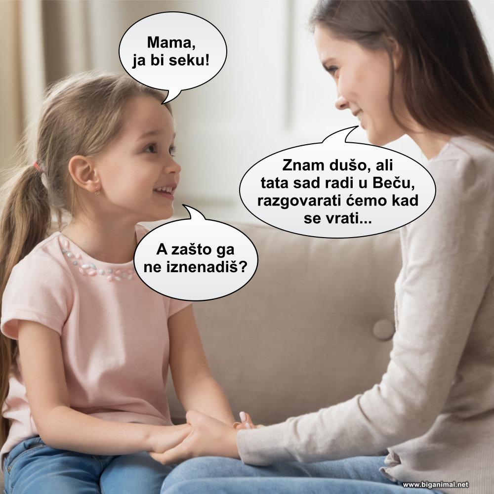 Mama, ja bi seku...