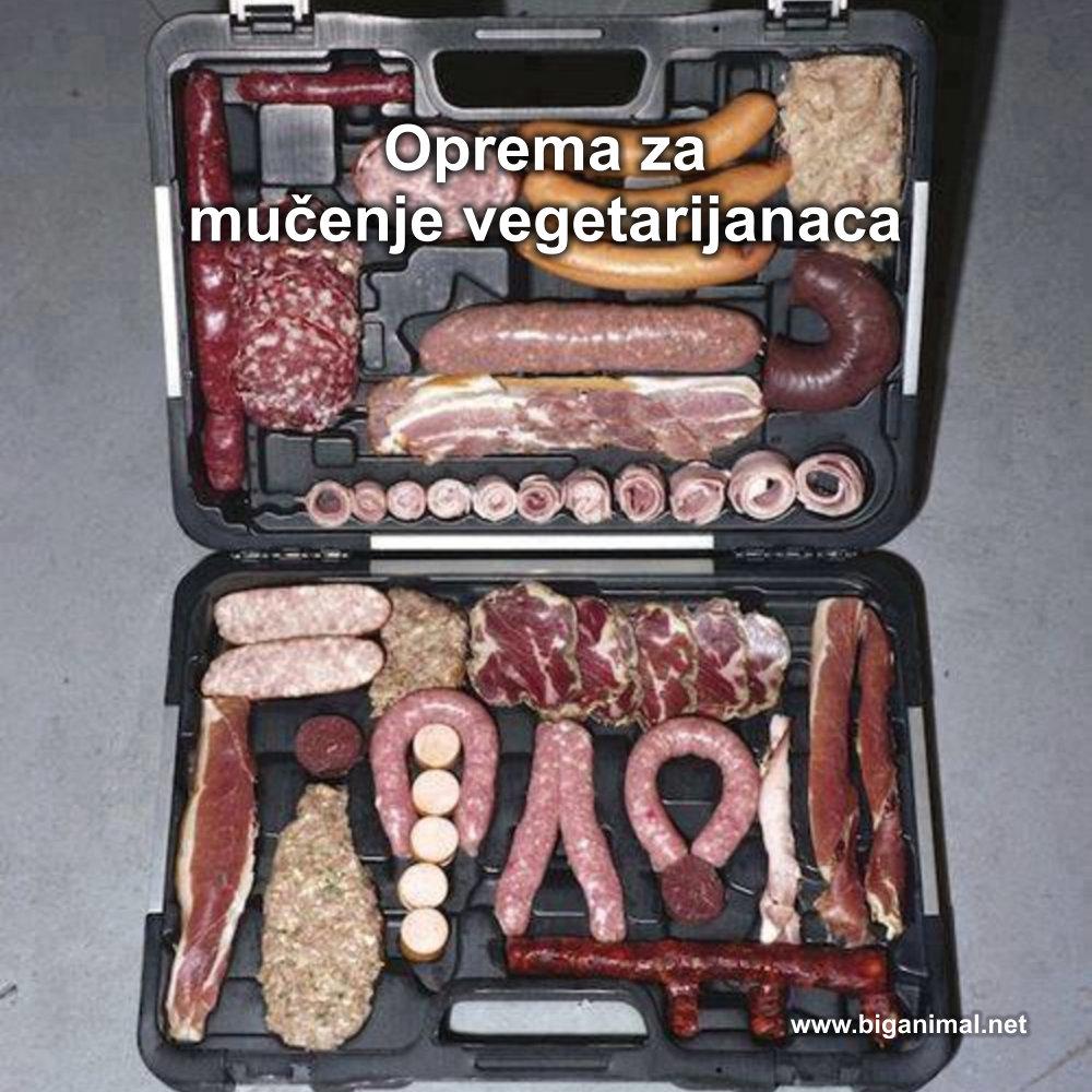 Oprema za mučenje vegetarijanaca
