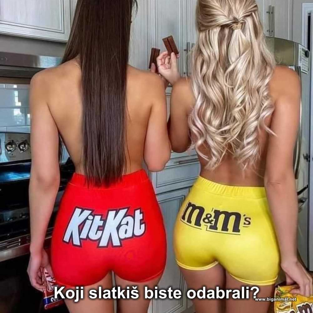 Koji slatkiš biste odabrali?