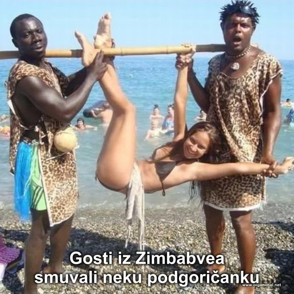 Gosti iz Zimbabvea...