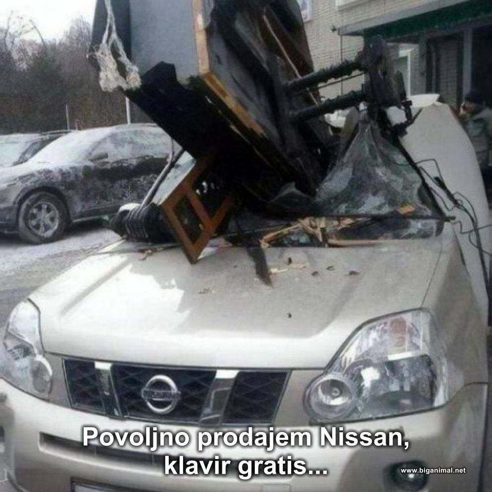 Povoljno prodajem Nissan...