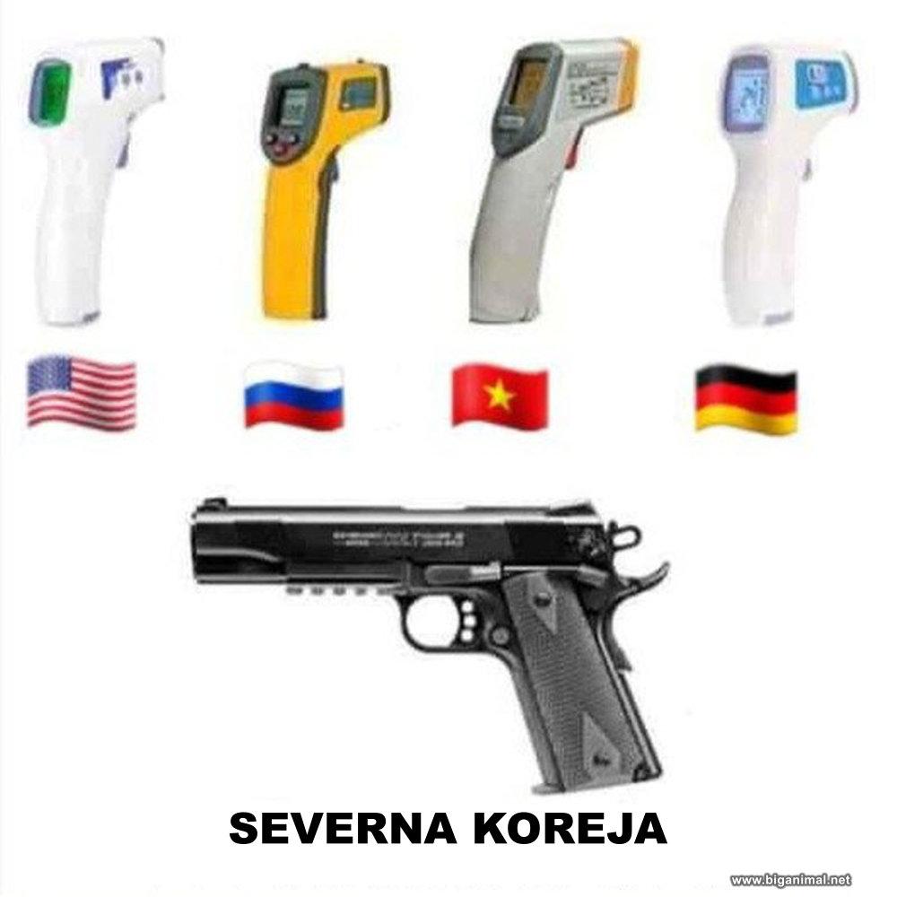 Kako je u Sjevernoj Koreji smanjen broj zaraženih