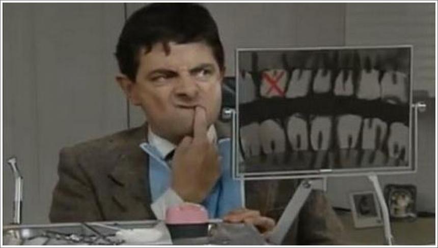 Mr Bean - At the Dentist