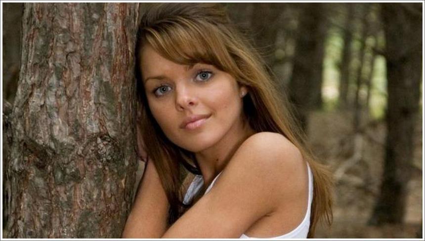 Michelle u borovoj šumici