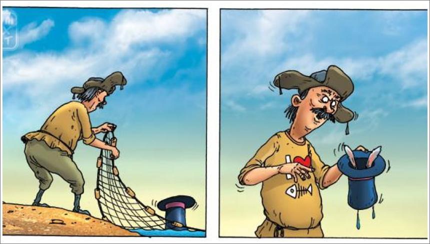 Ribar i čarobni šešir