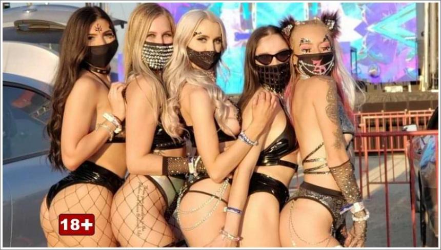 Djevojke na glazbenim festivalima №2