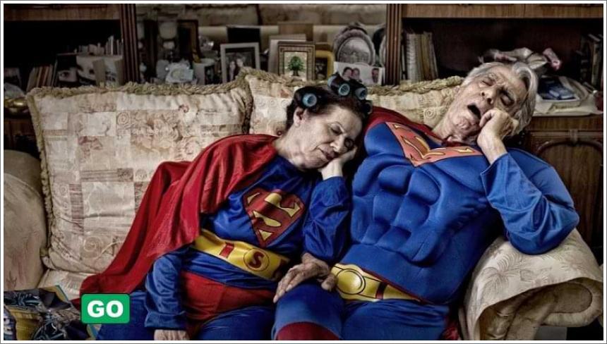 Superheroji na fotografijama Martina Becka