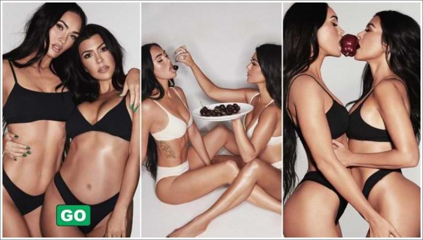Megan Fox i Courtney Kardashian u donjem rublju