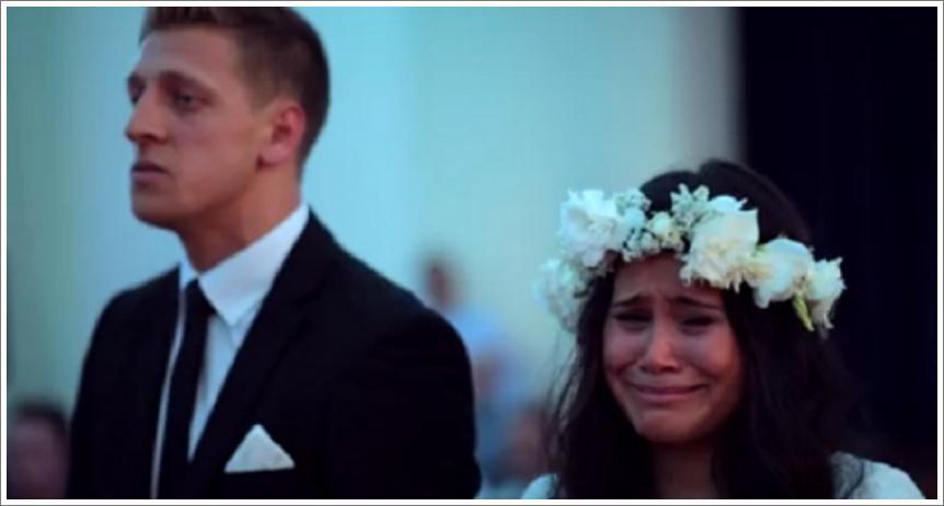 Emocionalni Haka performans na vjenčanju