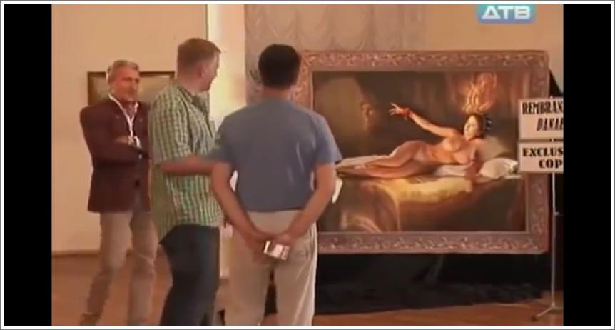 Oživjela Rembrandtova Danaë