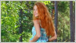 Crvenokosa šumska vila