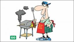 Muškarci i roštilj