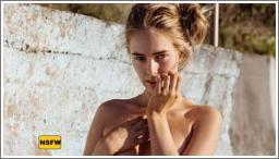 Djevojke rukama prekrivaju gole grudi №6