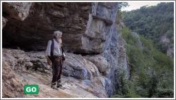 Srpski pustinjak koji živi u špilji cijepio se protiv Covida