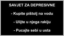 Savjet za depresivne