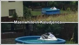 Meanwhile in Kaludjerica...