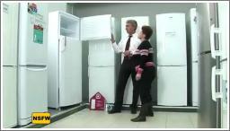 Iznenađenje u trgovini frižidera