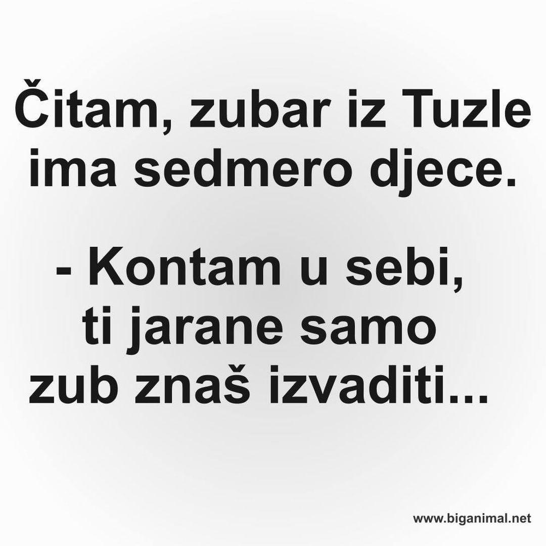 Zubar iz Tuzle...